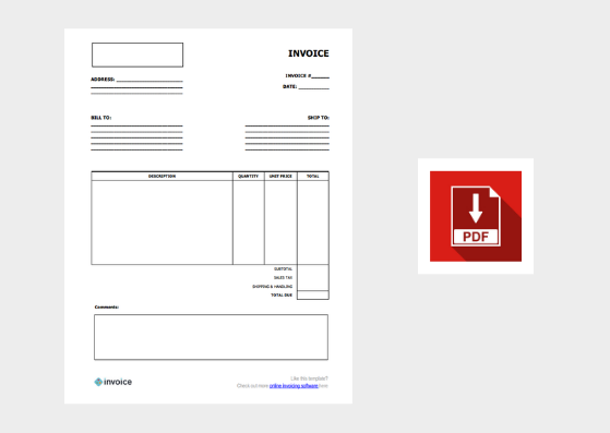 Download Free Invoice Templates For Word Excel Canva