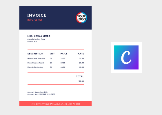 Online Invoicing Template